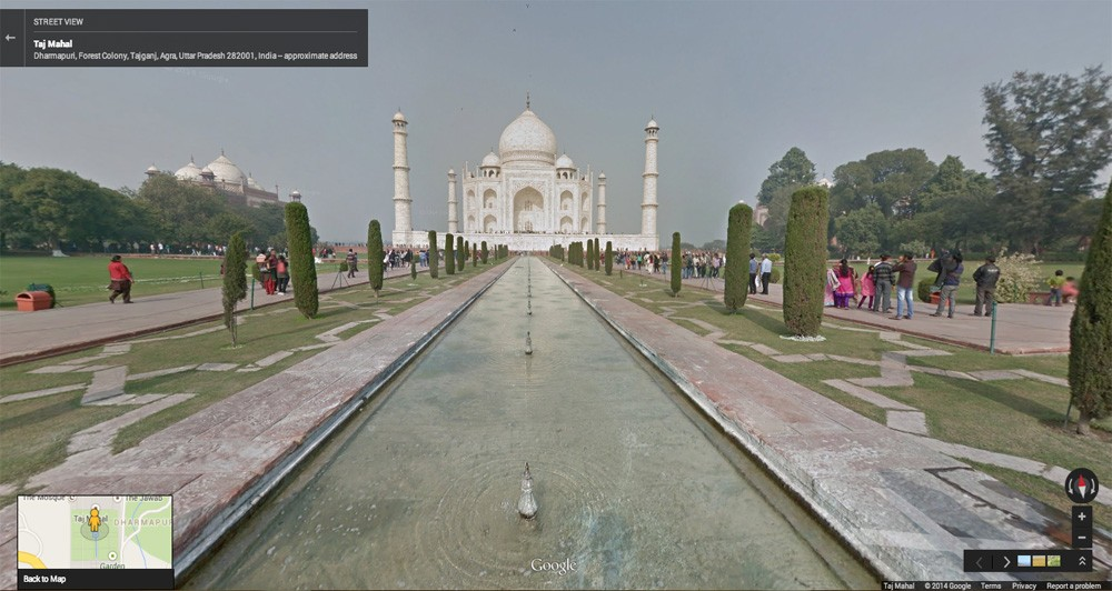 Ανακαλύπτουμε την Ινδία με το Street View