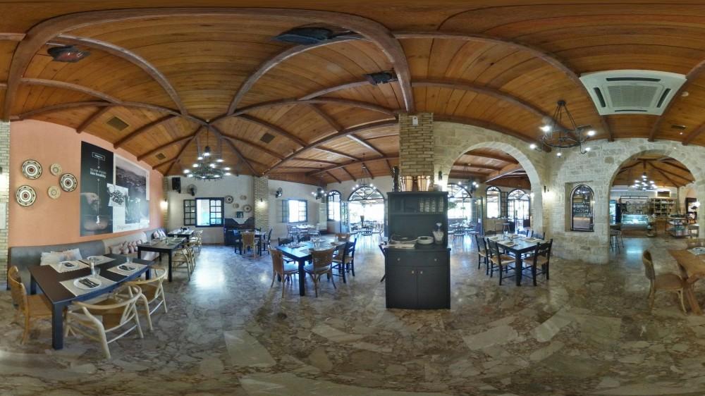 Εικονική πλοήγηση 360° στο thigaterra - The Art of Slow Food