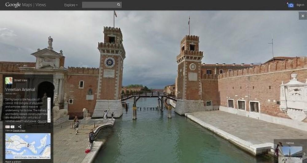 Το Street View μας ταξιδεύει στη Βενετία