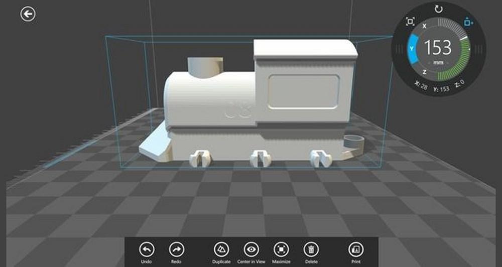 3D Builder app για Windows 8.1