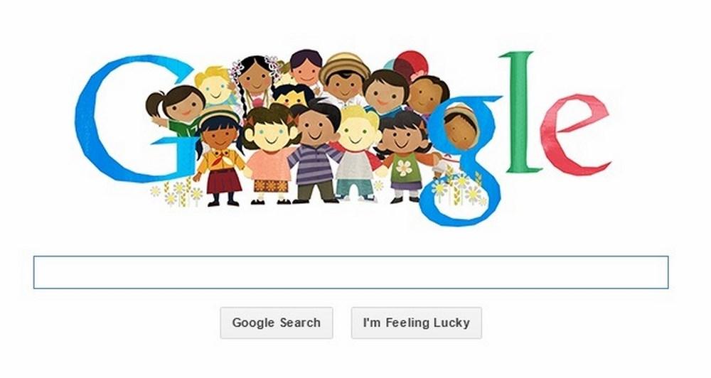 Doodle αφιερωμένο στην Παγκόσμια Ημέρα των Παιδιών