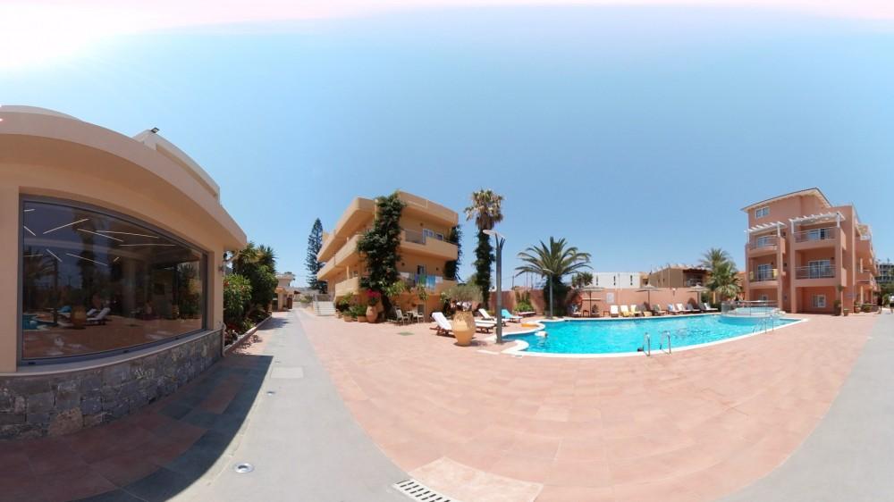 Εικονική πλοήγηση στο ξενοδοχείο High Beach στα Μάλια