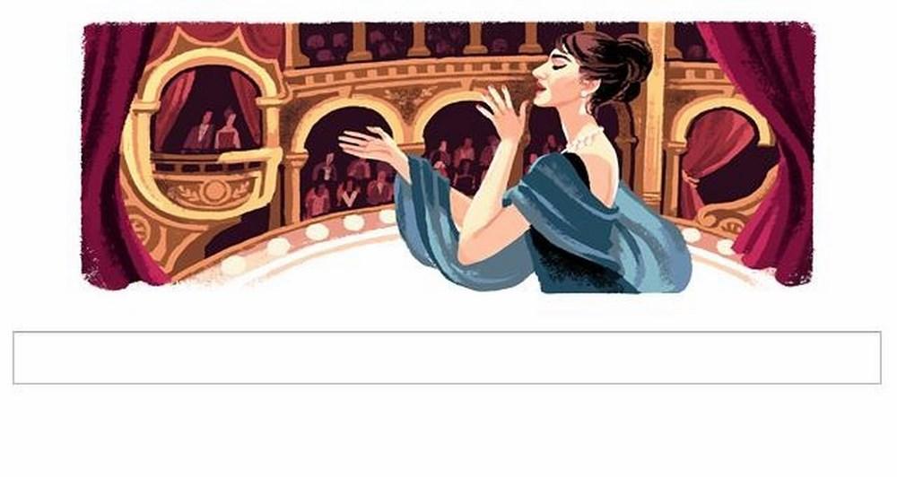 Η Google τιμά την Μαρία Κάλλας