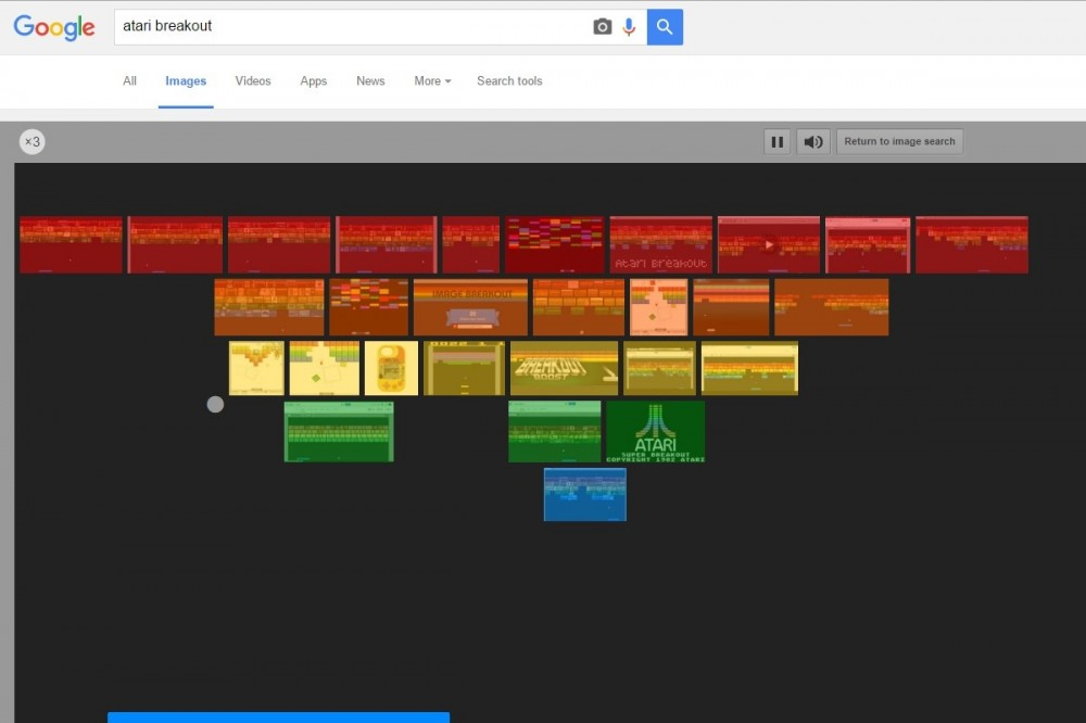 Atari Breakout από την Google