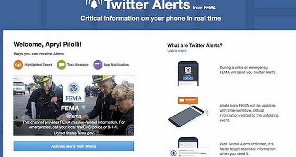 Twitter Alerts: Σε νέες χώρες και με νέα χαρακτηριστικά