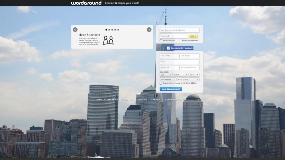 Word Around, το νέο social network