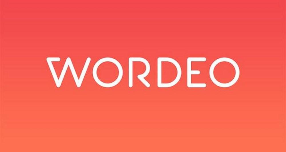 Wordeo εφαρμογή για iOS