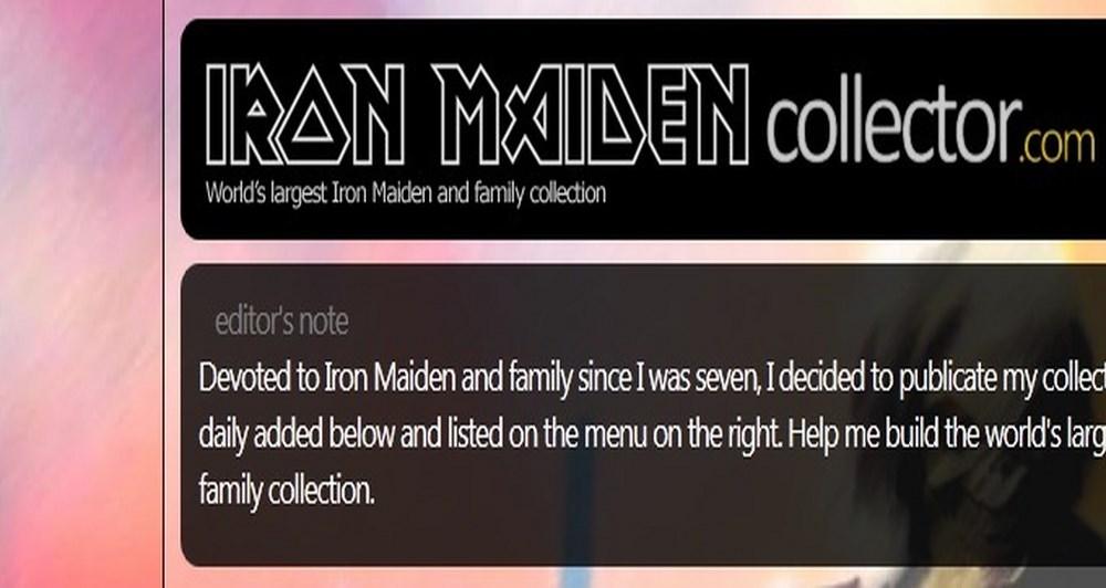 Δημοσιεύτηκε το Iron Maiden Collector