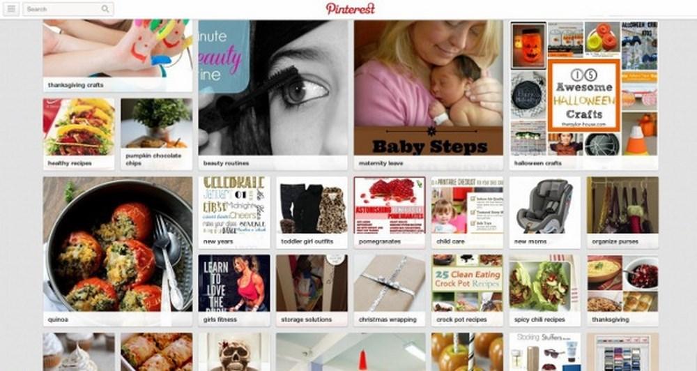 Αλλαγές στη σελίδα του Pinterest