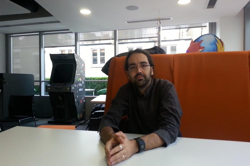 Η imonline στα γραφεία του Mozilla στο Λονδίνο