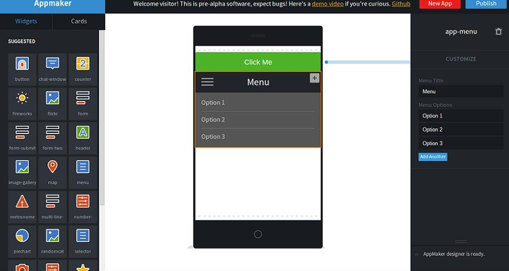 AppMaker: Νέος τρόπος για να φτιάξεις την δική σου εφαρμογή