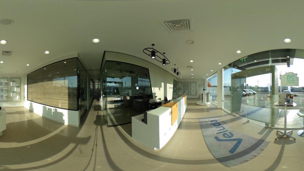 Εικονική πλοήγηση στην εταιρεία Veluda ΑΕ
