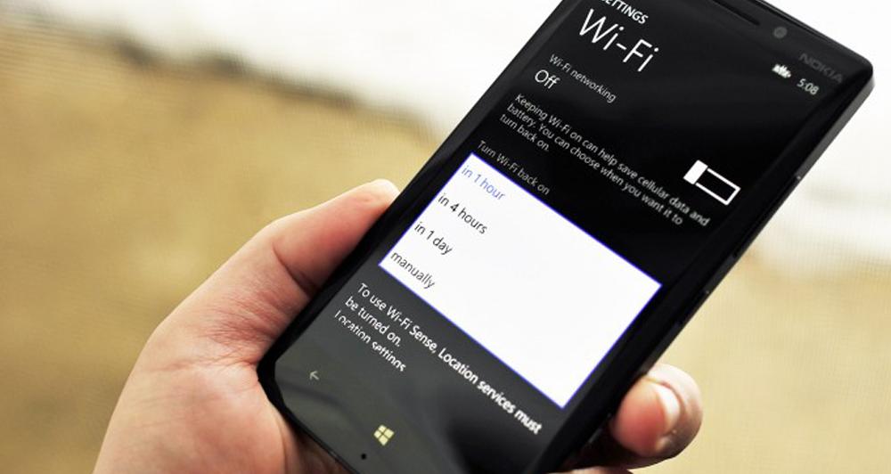 WiFi Sense η νέα λειτουργία του Windows Phone 8.1