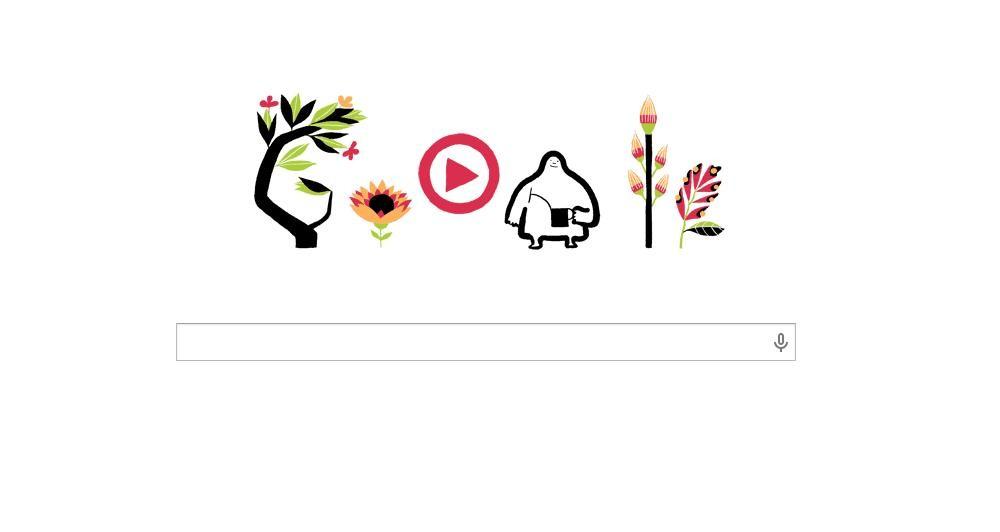 Η Google τιμά τη πρώτη μέρα της άνοιξης
