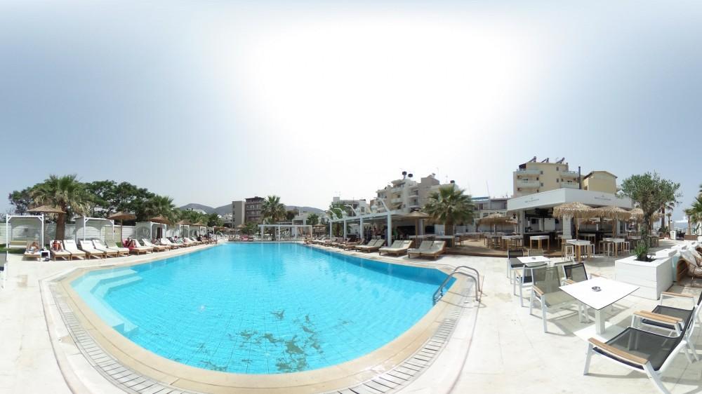 Virtual tour στο κορυφαίο pool bar της Κρήτης
