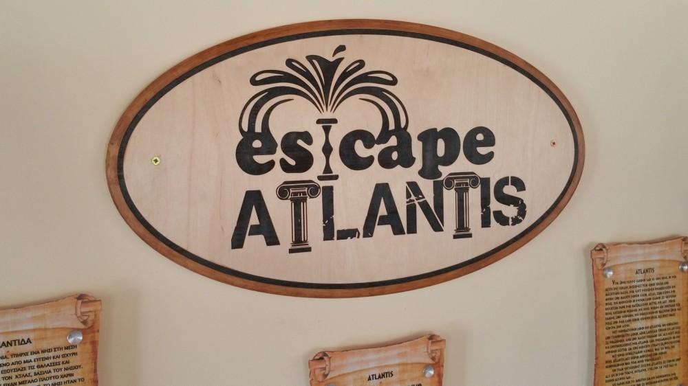 Εταιρική ταυτότητα Escape Atlantis