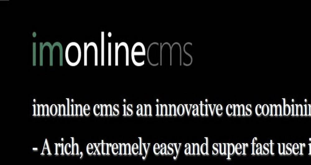 Ανάπτυξη της τρίτης έκδοσης του imonline cms