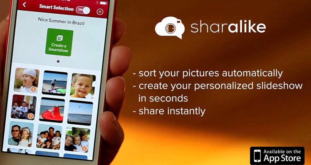 Sharalike, η εφαρμογή με τα κοινόχρηστα Slideshows