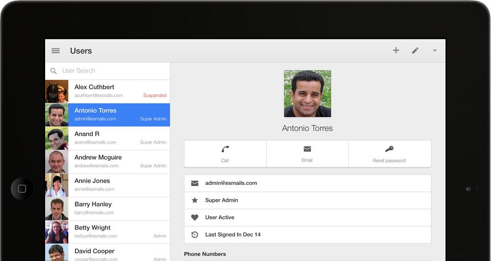 Admin app τώρα και για iOs
