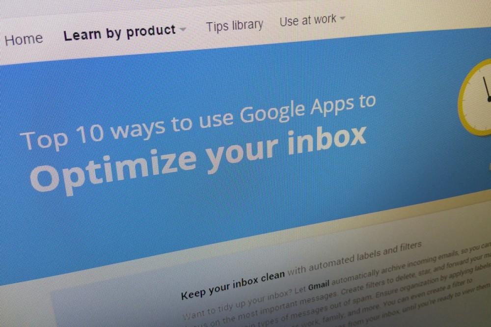 10 συμβουλές για βελτιστοποίηση του inbox