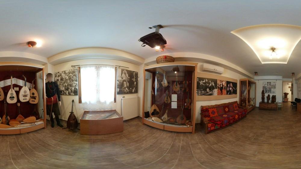 Εικονική πλοήγηση στο μουσείο μουσικών οργάνων Θύραθεν