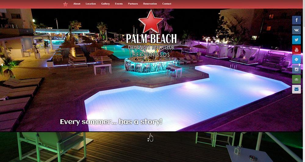 Γνωρίστε την ιστοσελίδα του Palm Beach Club