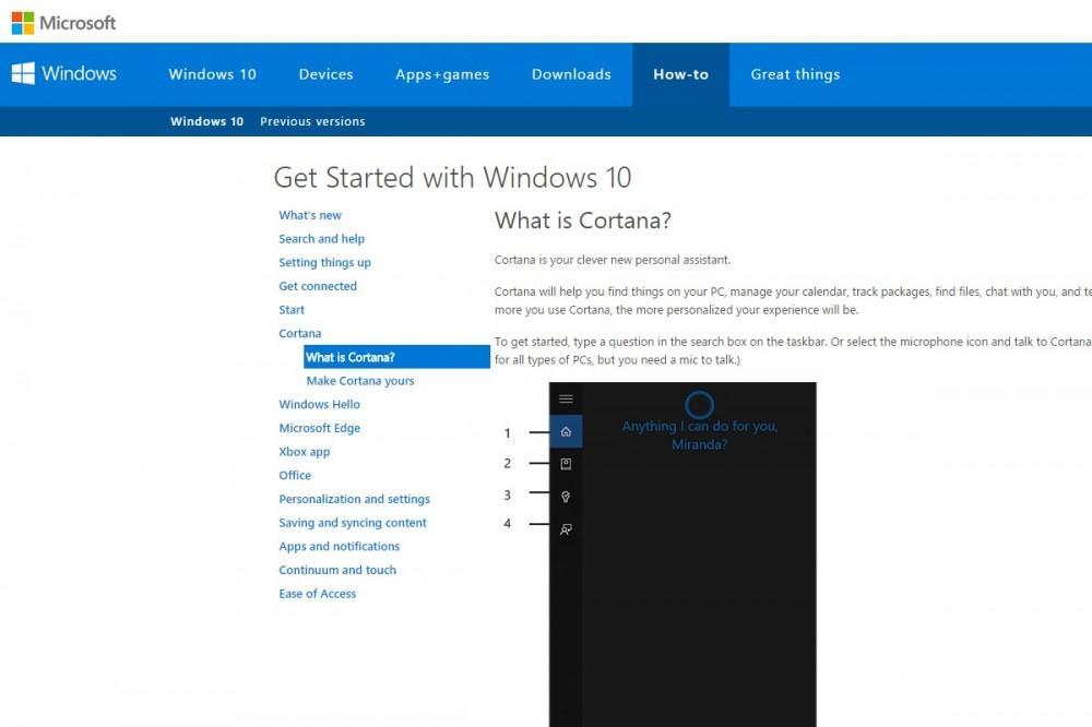 Meet Cortana στα Windows 10