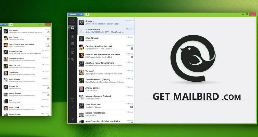 Νέα χαρακτηριστικά  για την εφαρμογή Mailbird