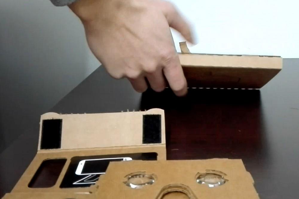 Συναρμολογώντας ένα Google Cardboard