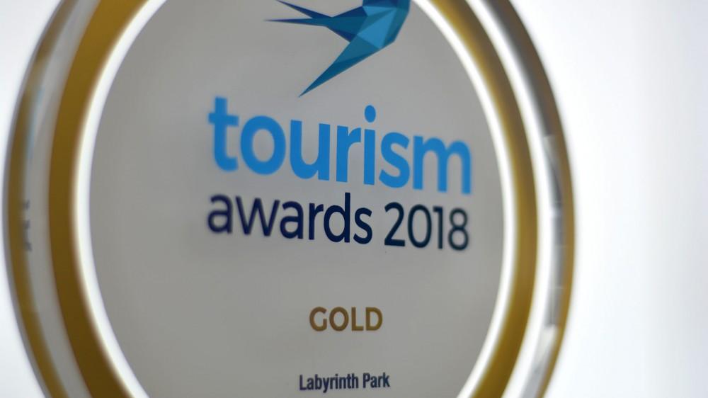 Βραβεύτηκε το Labyrinth Park στα Tourism Awards 2018