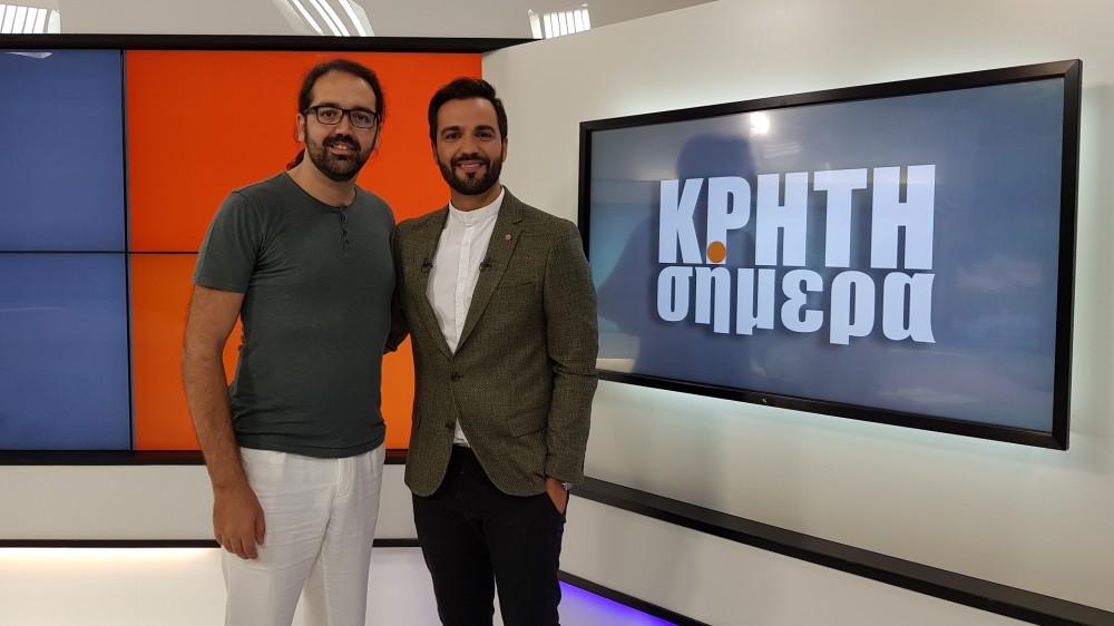 Η έκθεση The Art of Social Media στο Κρήτη Σήμερα με τον Λευτέρη Κουμαντάκη