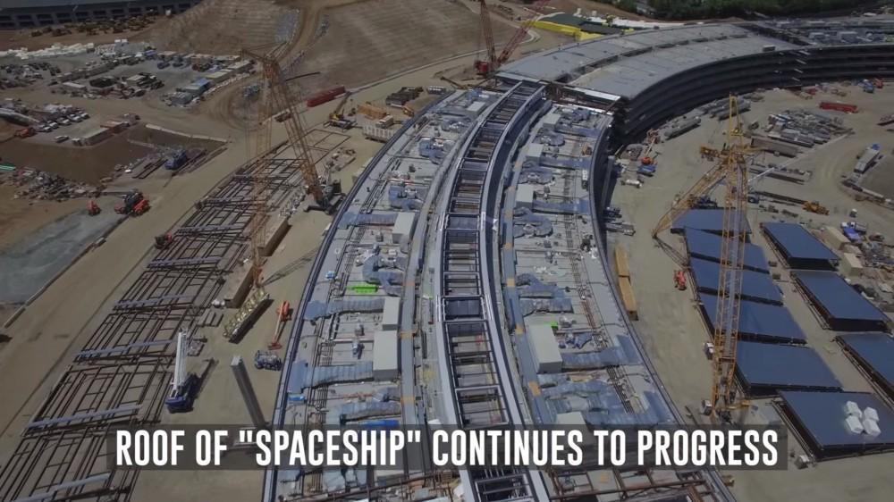 Apple Campus 2: Η κατασκευή προχωράει