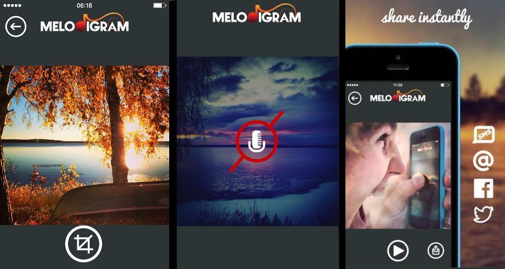 Melodigram: Νέα εφαρμογή για επεξεργασία φωτογραφιών