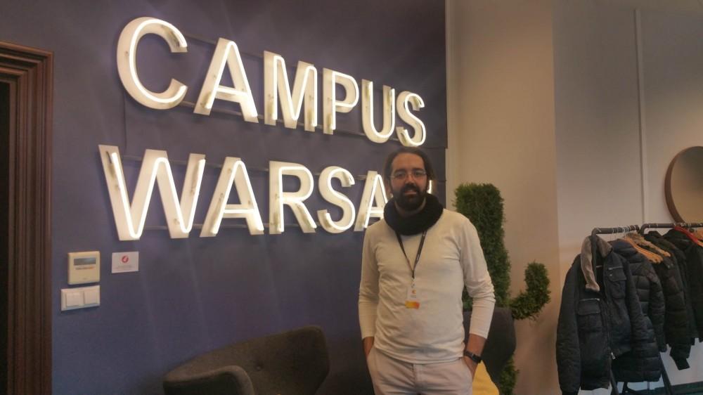 Η imonline στο Google Campus στην Βαρσοβία