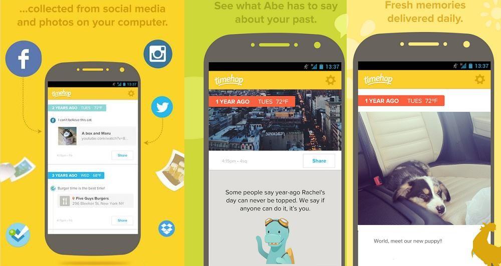 Τimehop: Έρχεται και στο Android