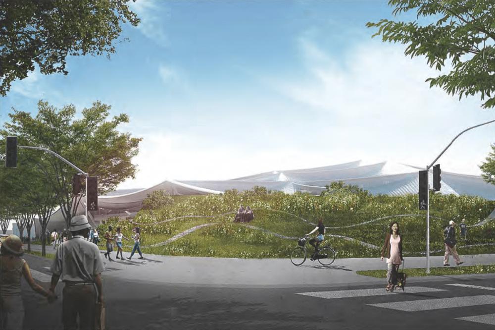 Google's Charleston East campus renders