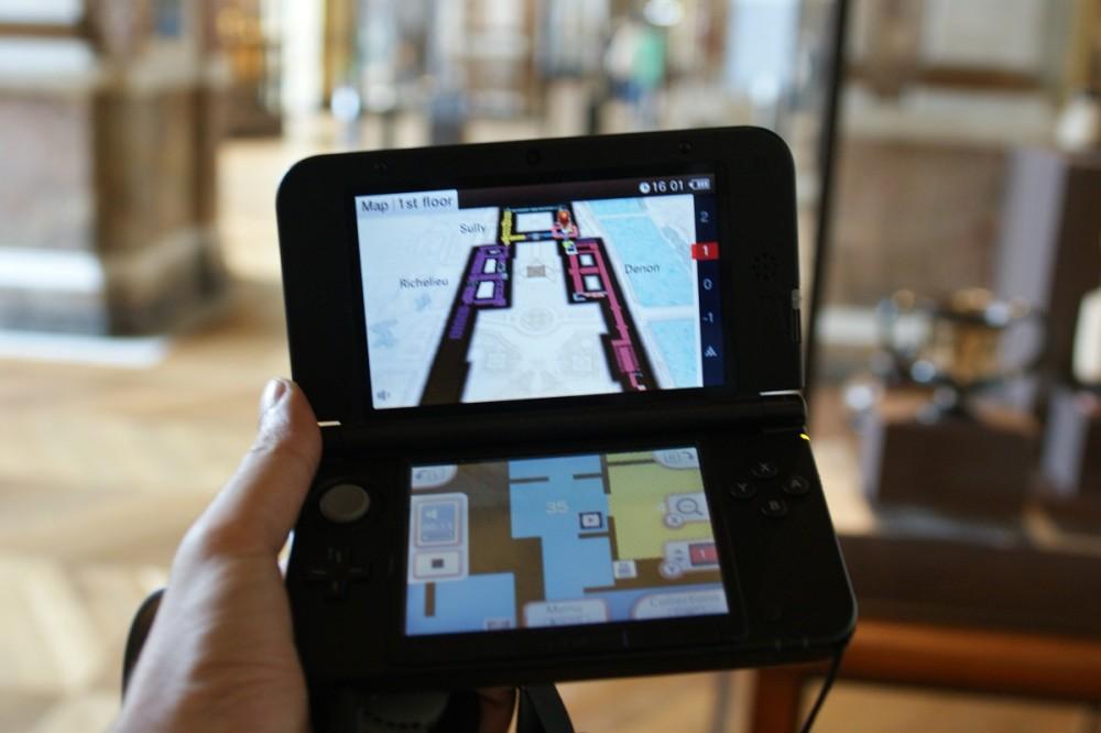 Nintendo Game Boy 3DS XL + Louvre = LFE