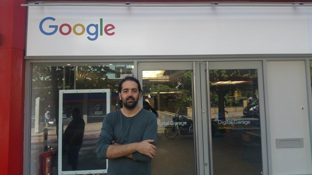 Η imonline στο Digital Garage της Google στο Σέφιλντ