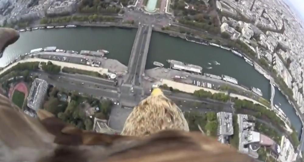 Ο πύργος του Άιφελ, ένας αετός και τεχνολογία