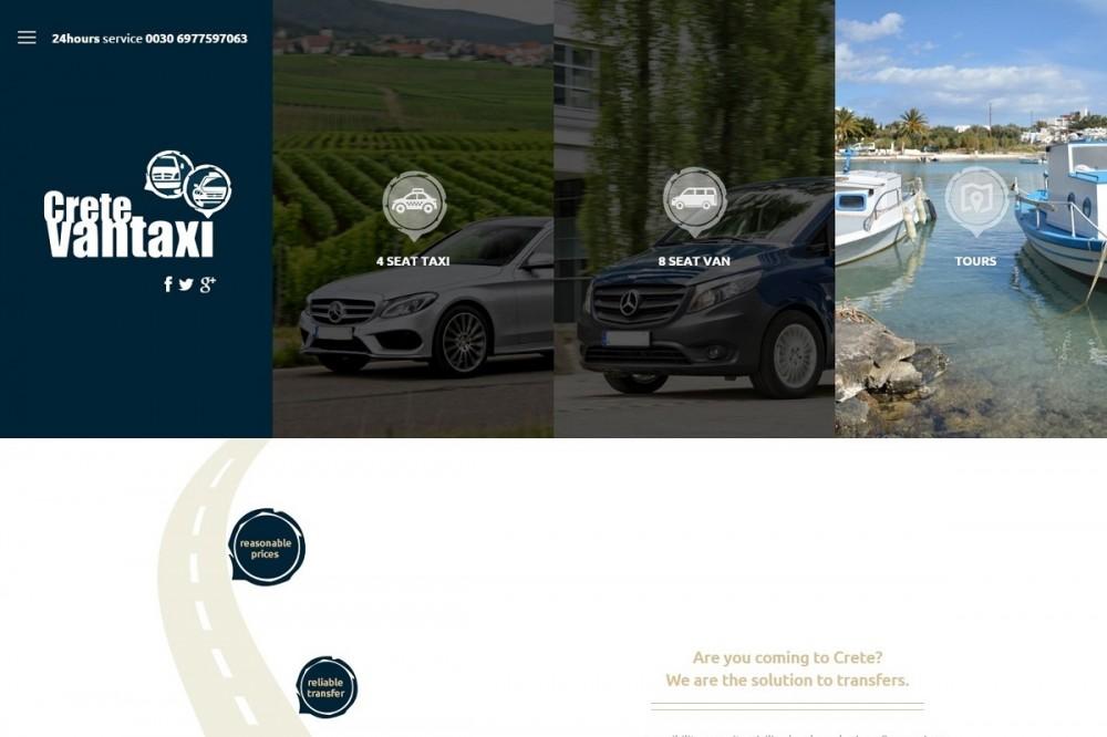 Το Crete Van Taxi στις υπηρεσίες σας