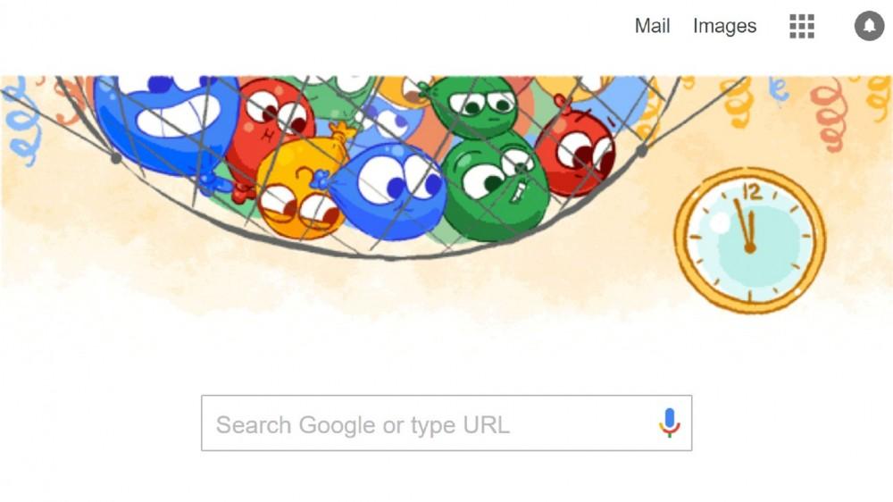 Το τελευταίο Google Doodle για το 2016