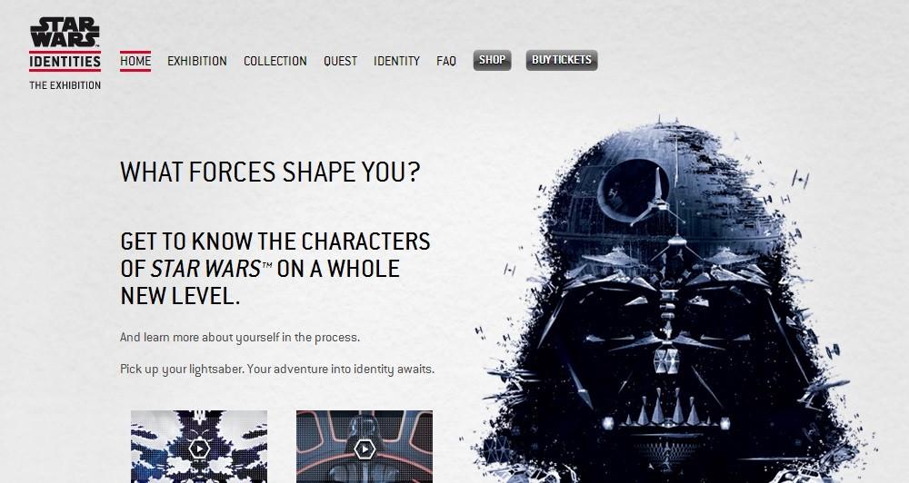 Το Star Wars Identities στο Παρίσι